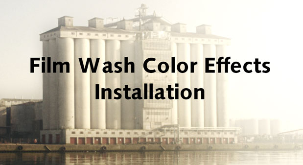 Installing Film Wash Color Effects for After Effects - 4