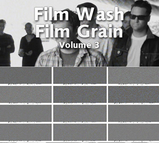 Film Wash Film Grain Vol 3 - contact