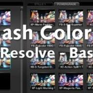 Film Wash Color Effects for DaVinci Resolve - Basic usage